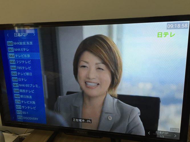 まだ見られる中国で日本のテレビ