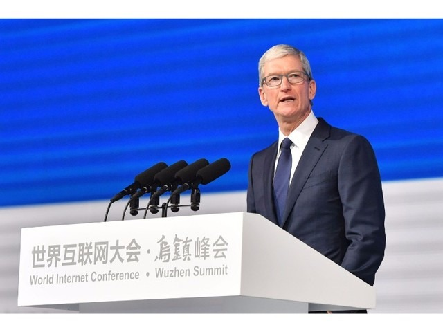 VPNアプリを削除した米アップル、iCloud中国センターを来月から稼働へ